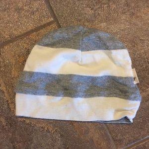 Burt's Bees Baby Pajamas - Burt Bees grey layette with cap